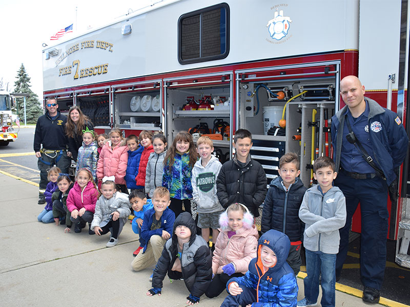 Bellmore Students are Leaders in Fire Safety photo