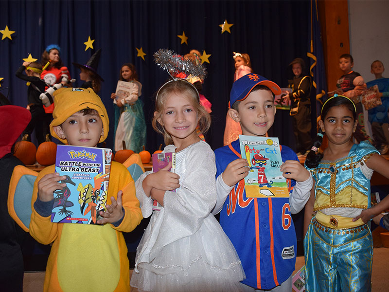 Book Character Parade Promotes Literacy photo